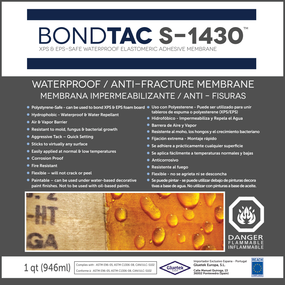 Gluetek – BondTAC S-1430